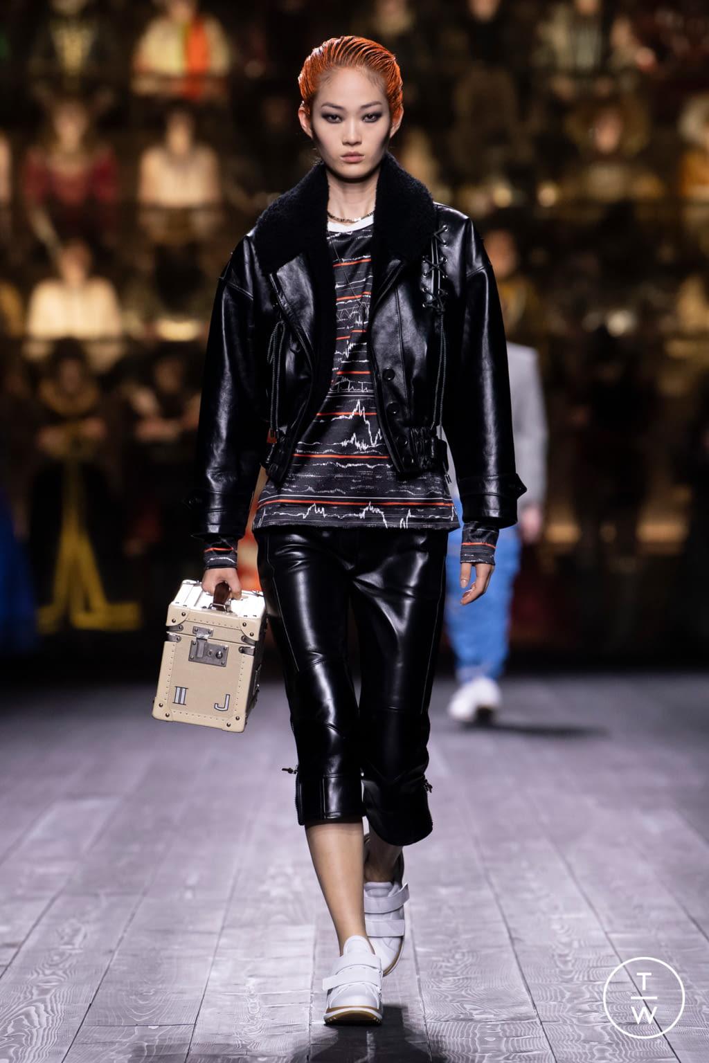 Fashion Week Paris Fall/Winter 2020 look 33 de la collection Louis Vuitton womenswear