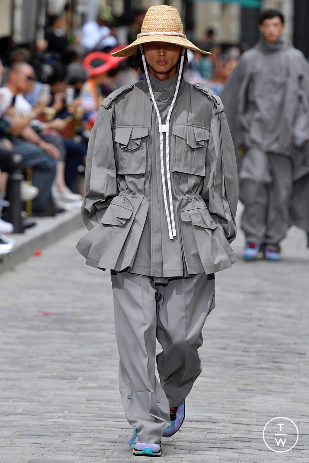 Fashion Week Paris Spring/Summer 2020 look 23 from the Louis Vuitton collection menswear