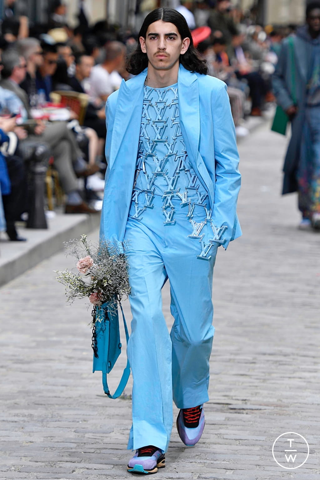 Fashion Week Paris Spring/Summer 2020 look 35 from the Louis Vuitton collection menswear