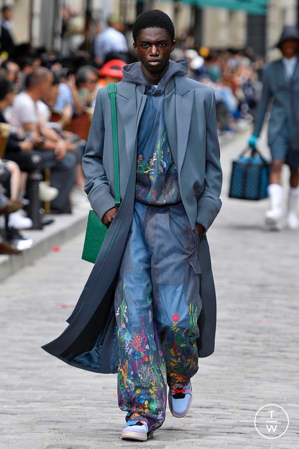Fashion Week Paris Spring/Summer 2020 look 36 from the Louis Vuitton collection menswear