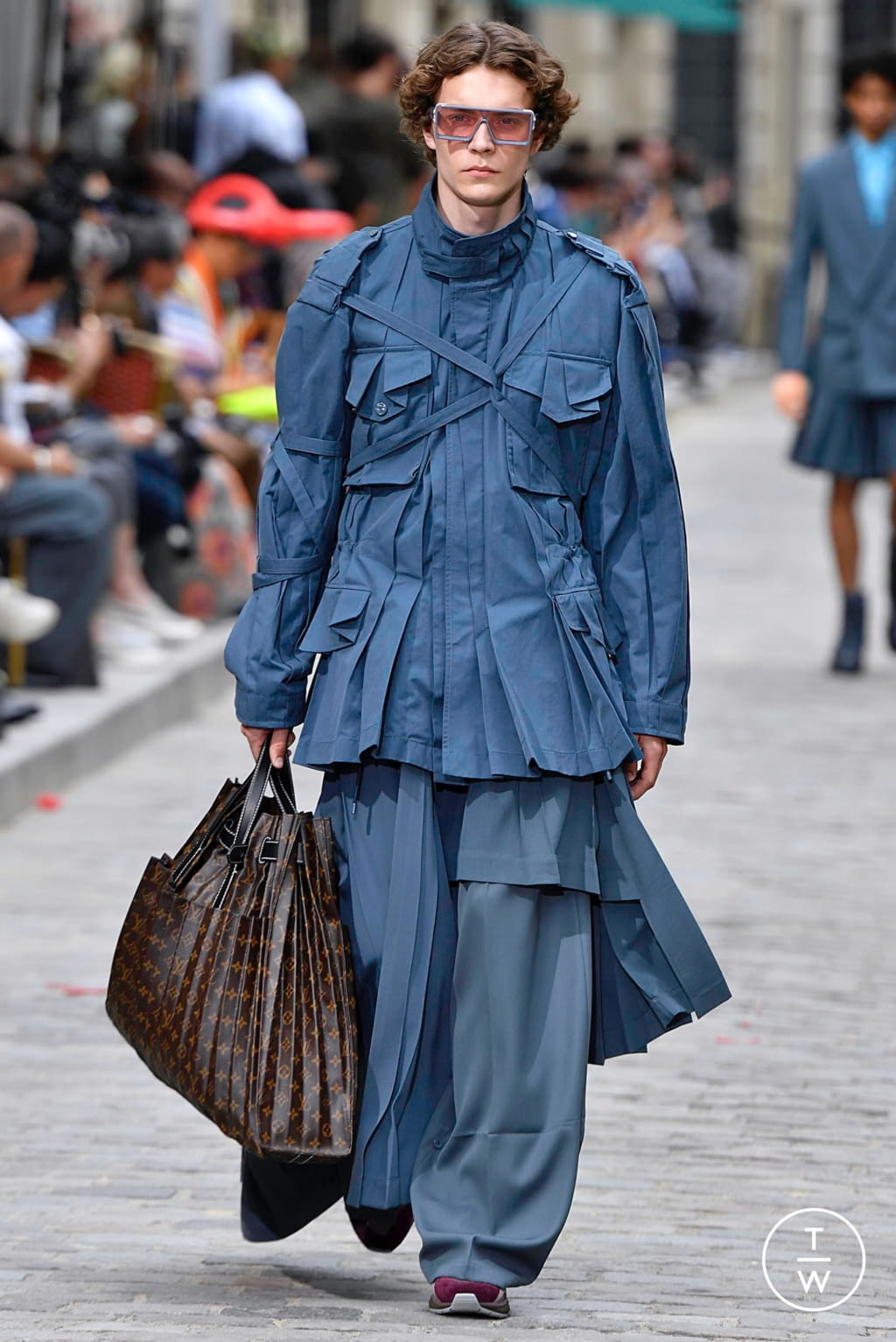 Fashion Week Paris Spring/Summer 2020 look 40 from the Louis Vuitton collection menswear