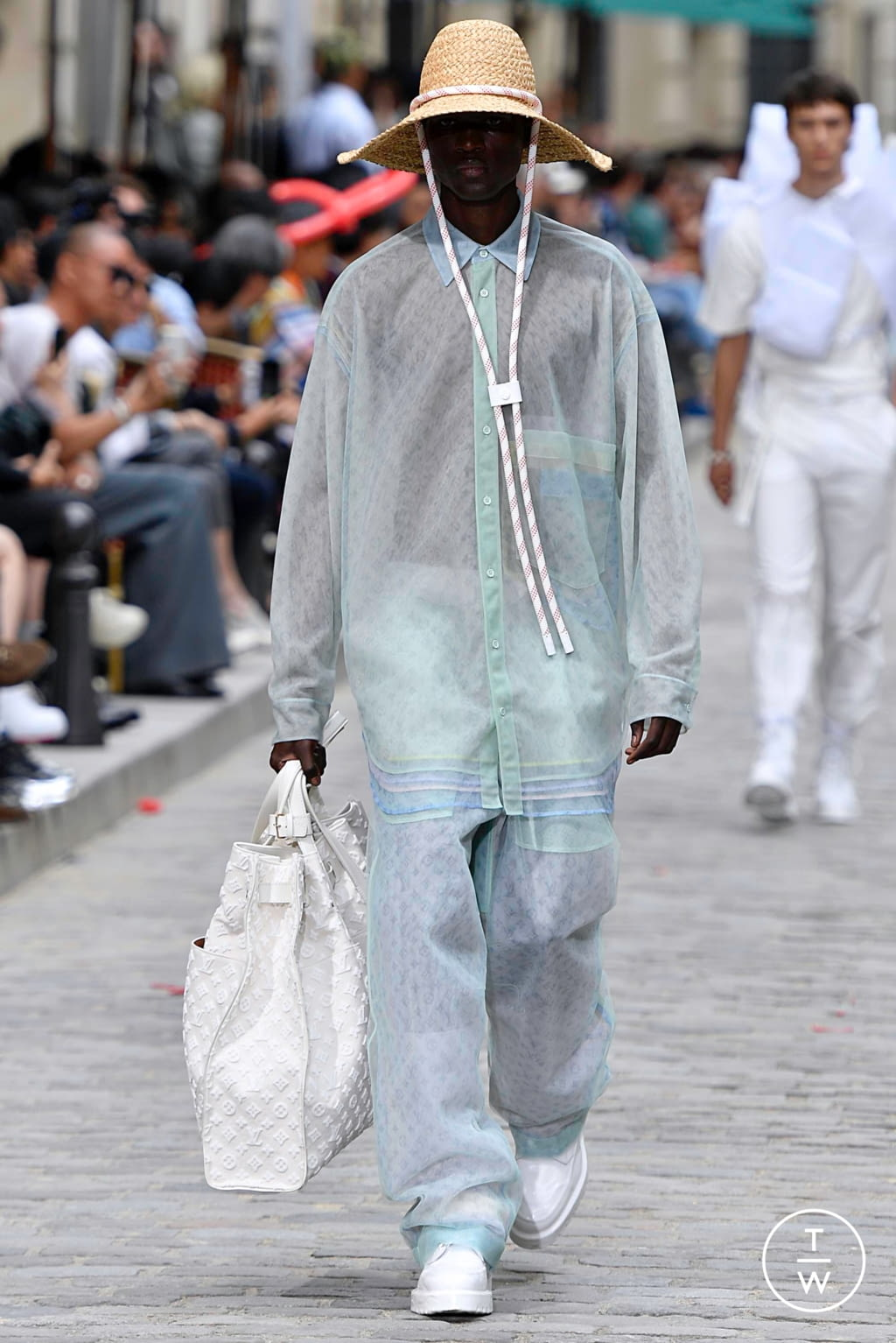 Fashion Week Paris Spring/Summer 2020 look 42 from the Louis Vuitton collection menswear