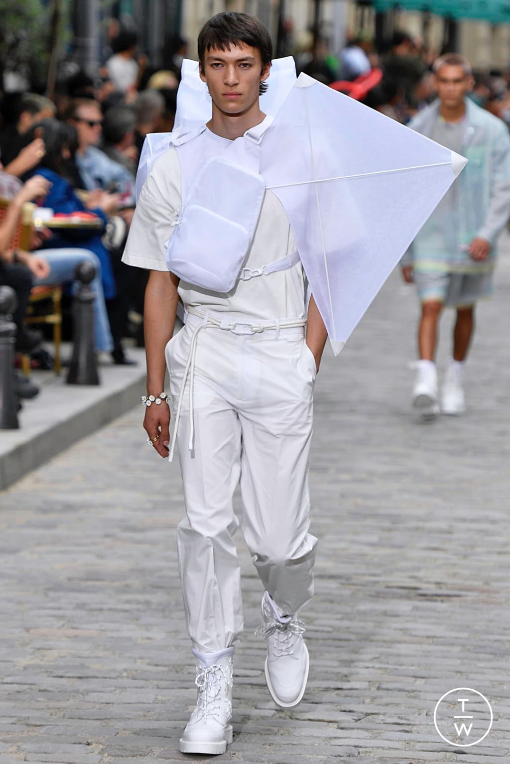 Fashion Week Paris Spring/Summer 2020 look 43 from the Louis Vuitton collection menswear