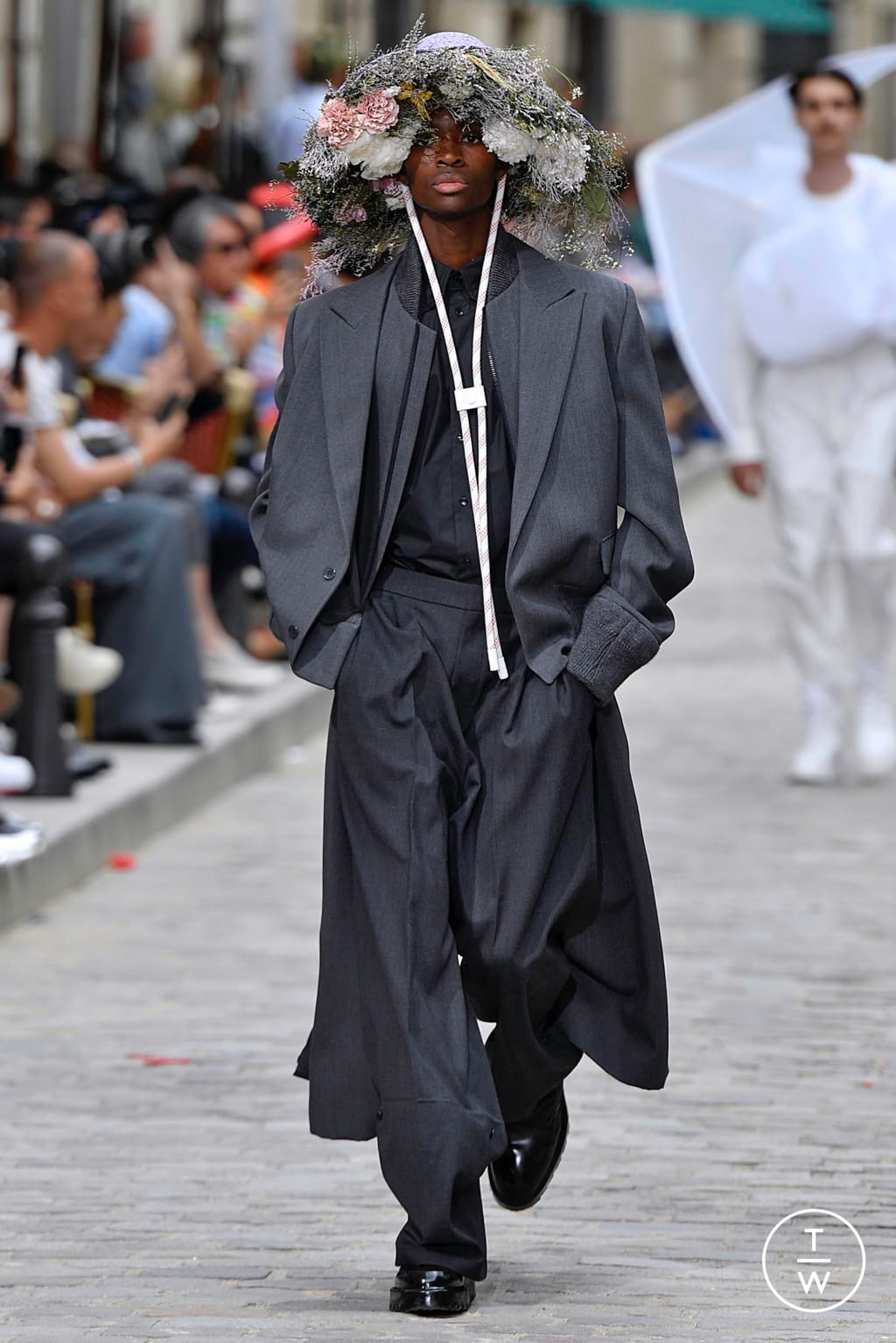 Fashion Week Paris Spring/Summer 2020 look 46 from the Louis Vuitton collection menswear