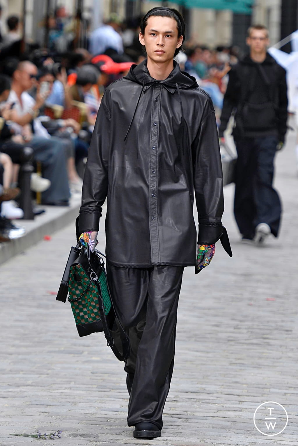 Fashion Week Paris Spring/Summer 2020 look 50 from the Louis Vuitton collection menswear
