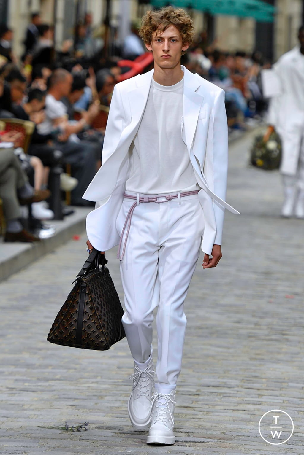 Fashion Week Paris Spring/Summer 2020 look 53 from the Louis Vuitton collection menswear