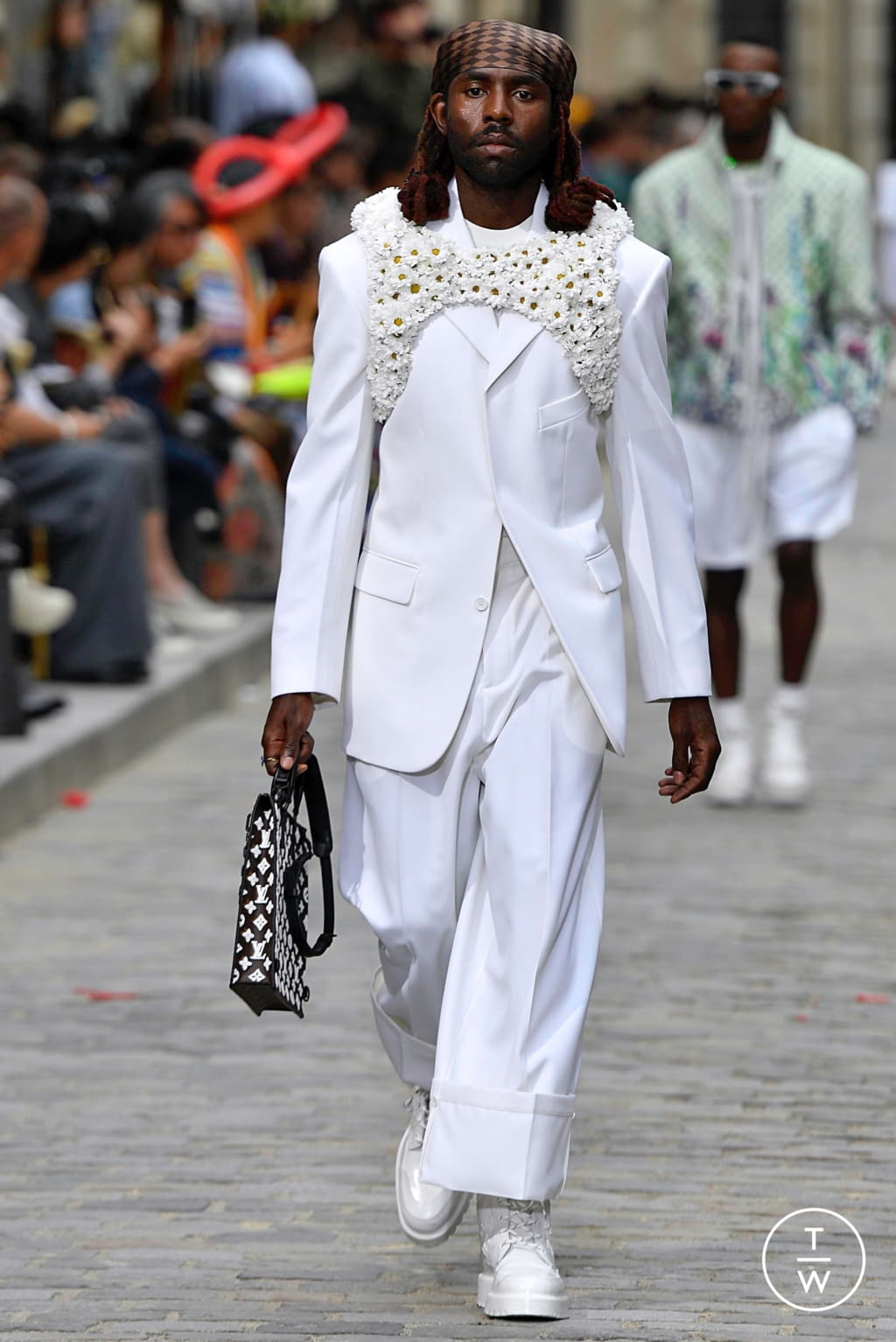 Fashion Week Paris Spring/Summer 2020 look 55 from the Louis Vuitton collection menswear