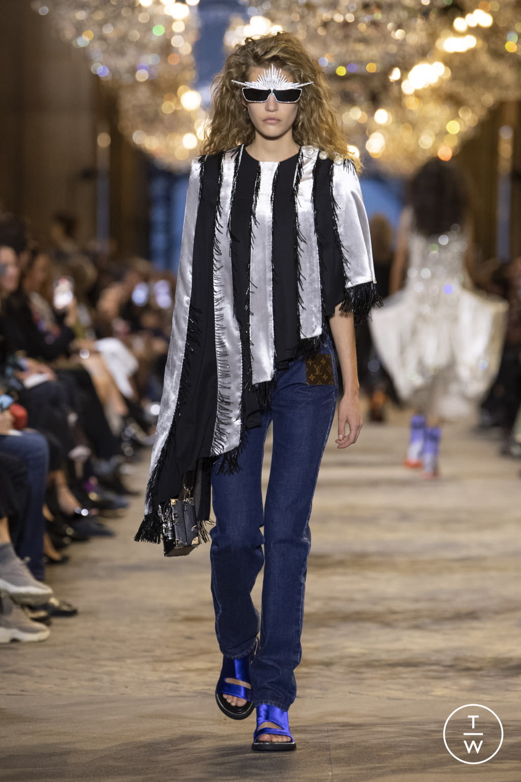 Fashion Week Paris Spring/Summer 2022 look 8 from the Louis Vuitton collection womenswear