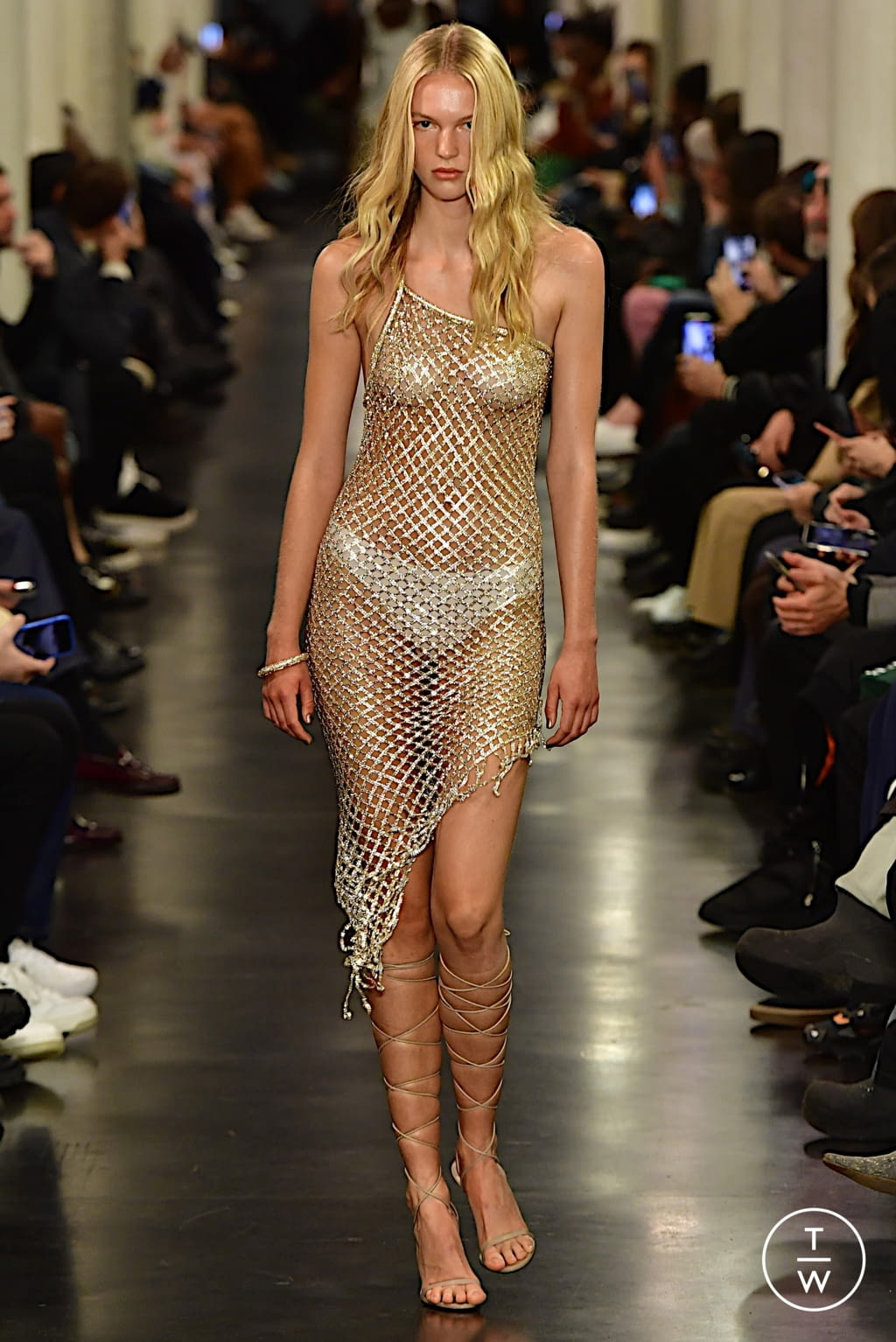 Fashion Week Paris Spring/Summer 2022 look 13 from the Ludovic de Saint Sernin collection womenswear