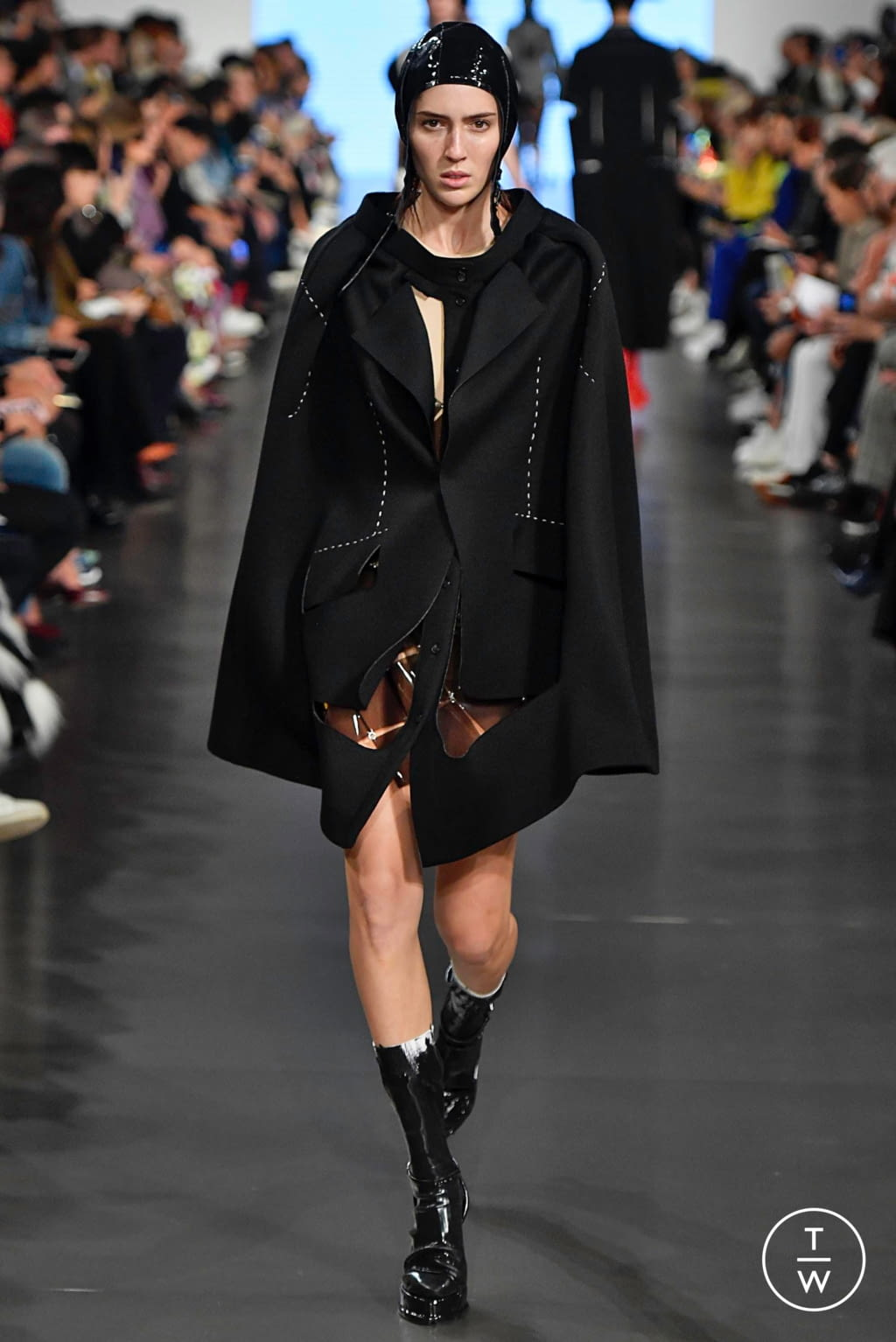 Fashion Week Paris Spring/Summer 2019 look 7 from the Maison Margiela collection womenswear