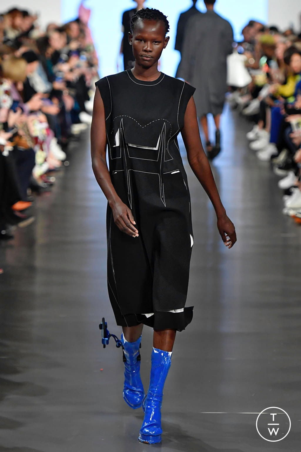 Fashion Week Paris Spring/Summer 2019 look 15 from the Maison Margiela collection womenswear