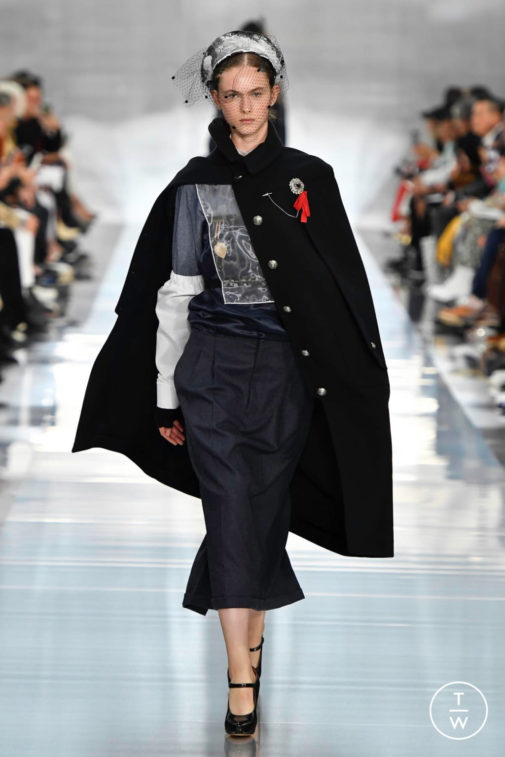Fashion Week Paris Spring/Summer 2020 look 1 from the Maison Margiela collection womenswear