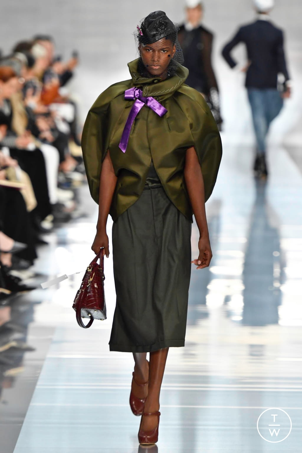 Fashion Week Paris Spring/Summer 2020 look 5 from the Maison Margiela collection womenswear