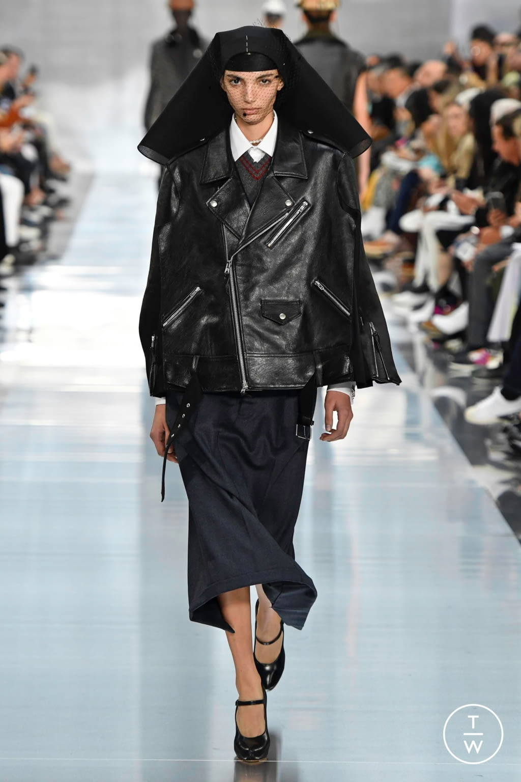 Fashion Week Paris Spring/Summer 2020 look 9 from the Maison Margiela collection womenswear