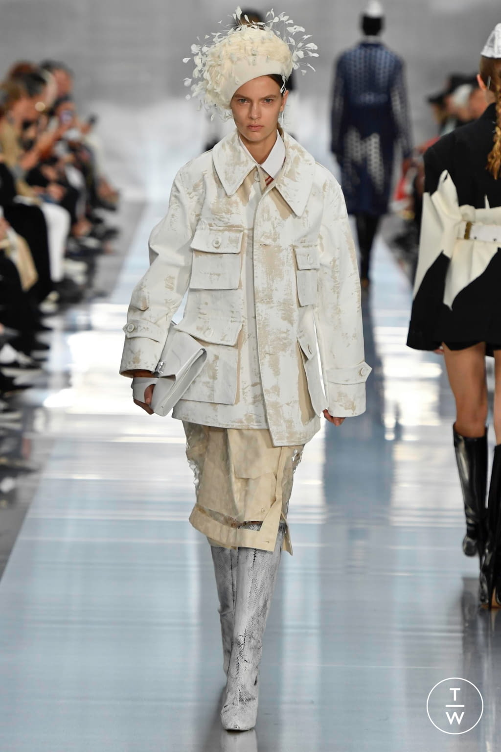 Fashion Week Paris Spring/Summer 2020 look 13 from the Maison Margiela collection womenswear