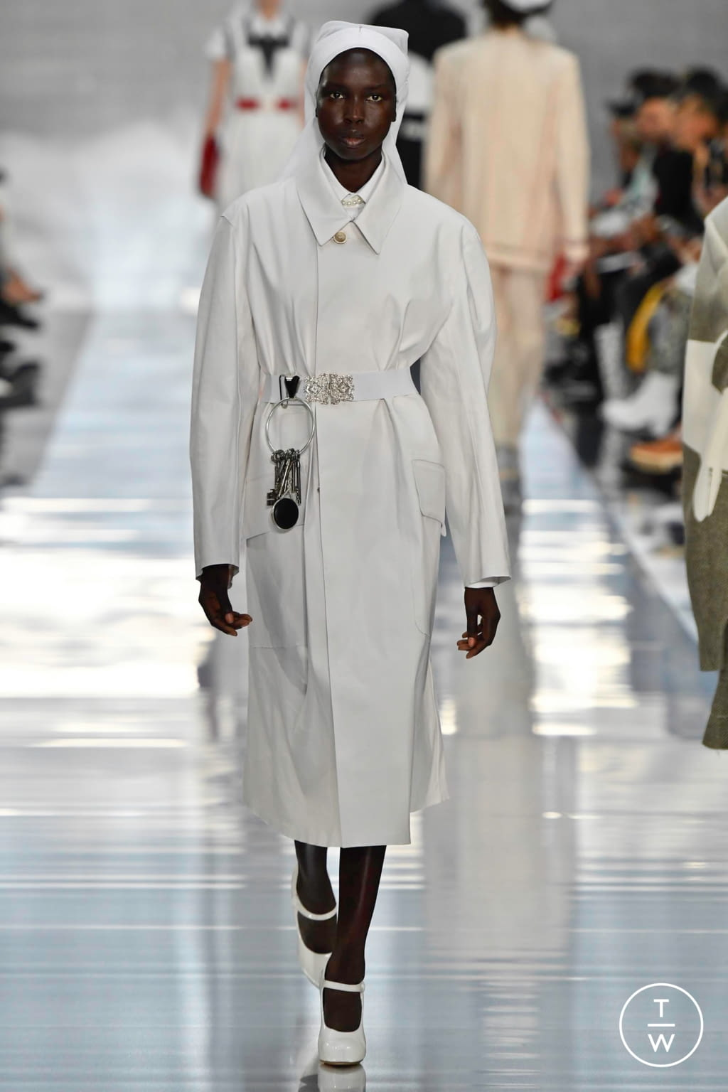 Fashion Week Paris Spring/Summer 2020 look 17 from the Maison Margiela collection womenswear