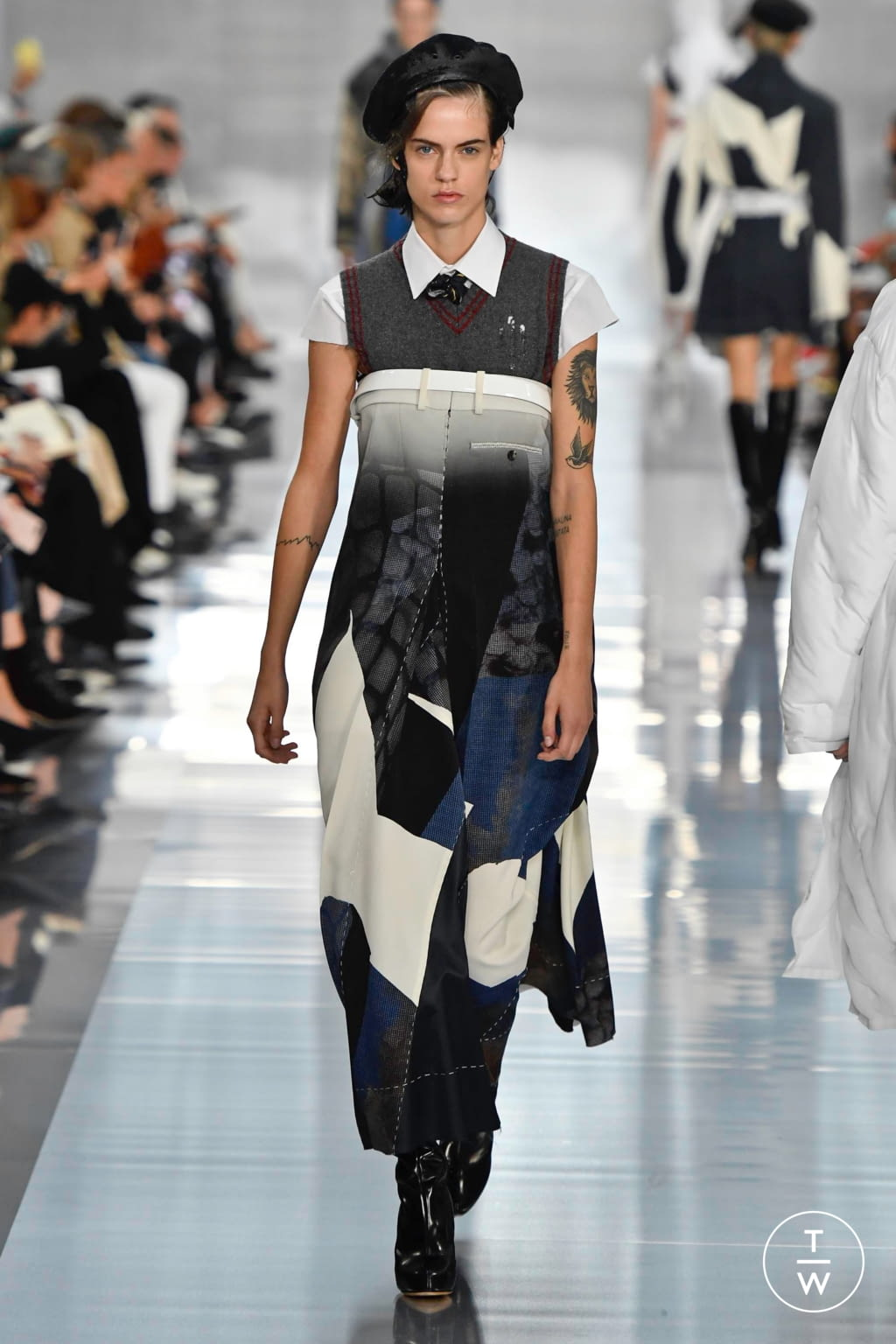 Fashion Week Paris Spring/Summer 2020 look 21 from the Maison Margiela collection womenswear