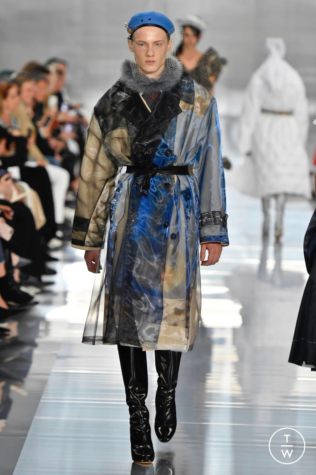 Fashion Week Paris Spring/Summer 2020 look 22 from the Maison Margiela collection womenswear