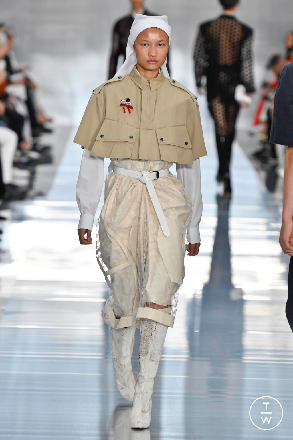 Fashion Week Paris Spring/Summer 2020 look 26 from the Maison Margiela collection womenswear