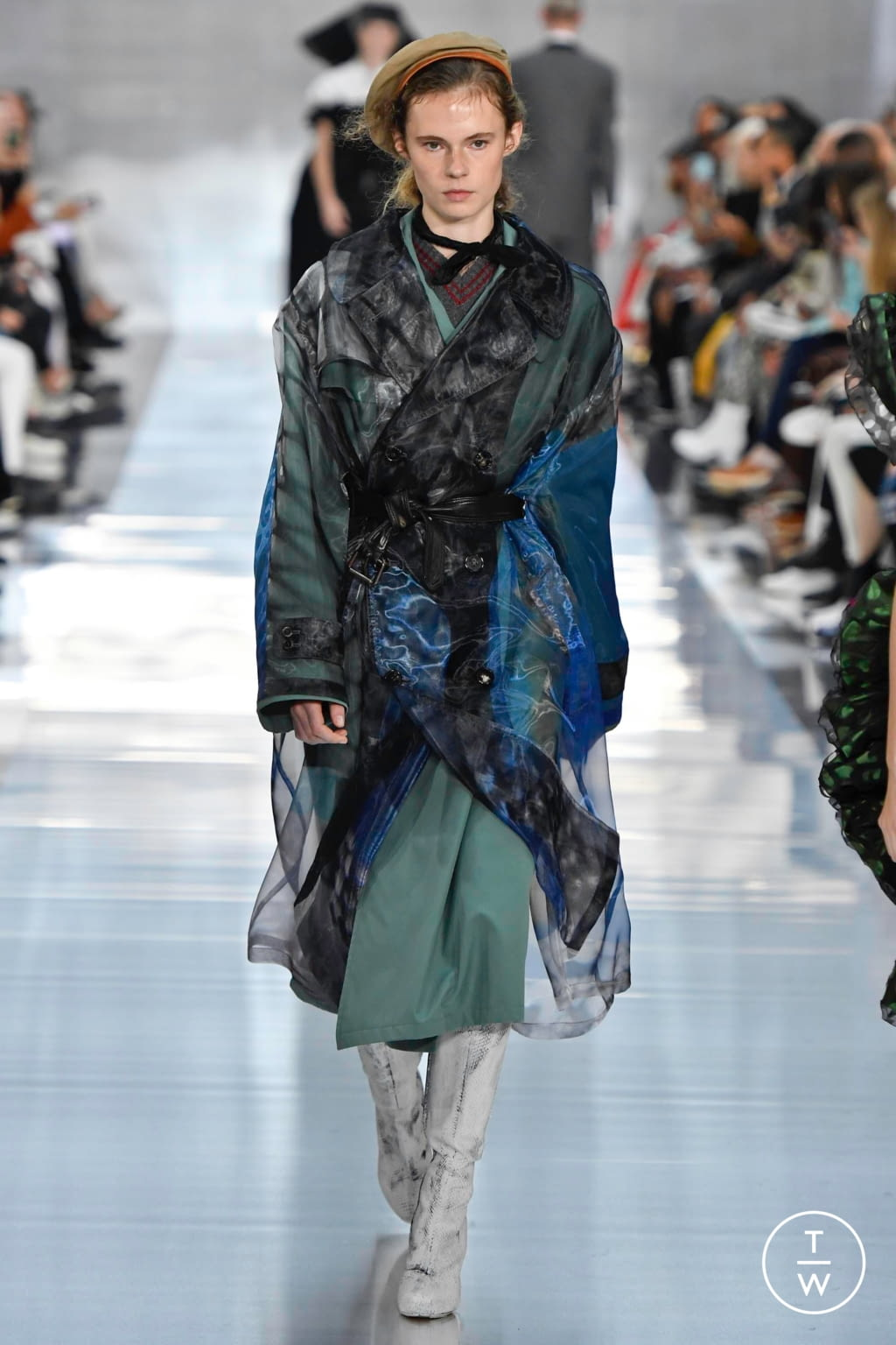 Fashion Week Paris Spring/Summer 2020 look 37 from the Maison Margiela collection womenswear