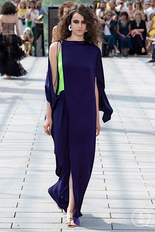 Fashion Week Paris Fall/Winter 2019 look 28 de la collection Maison Rabih Kayrouz couture