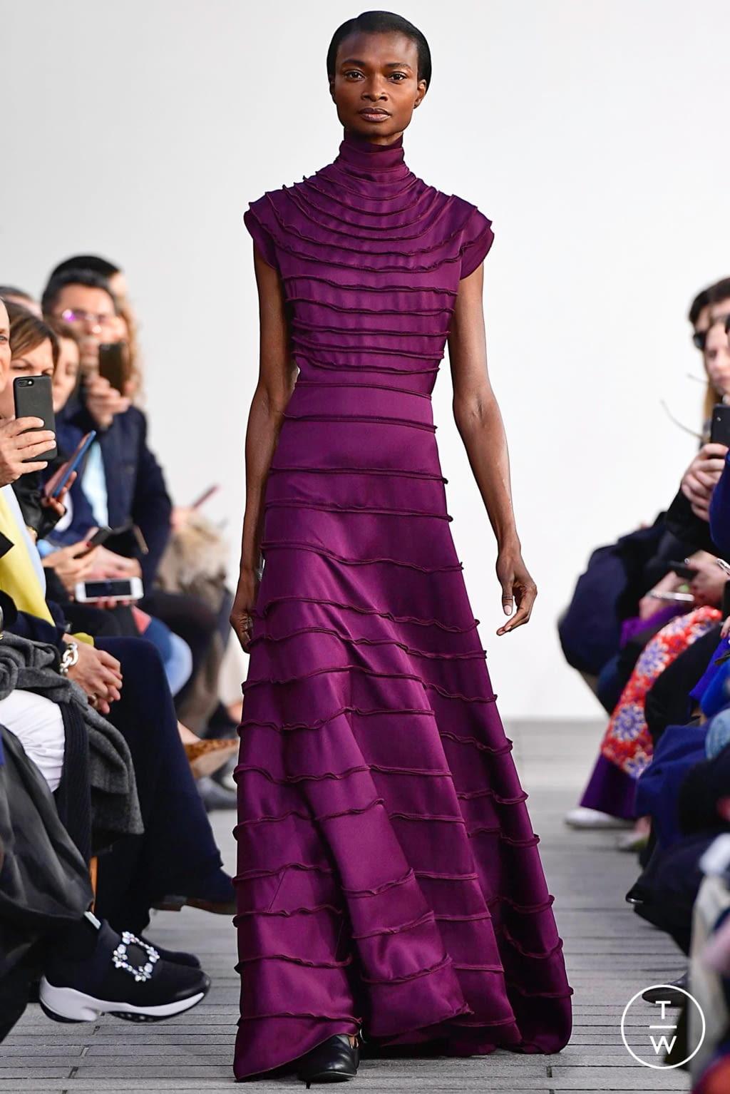 Fashion Week Paris Spring/Summer 2019 look 17 de la collection Maison Rabih Kayrouz couture
