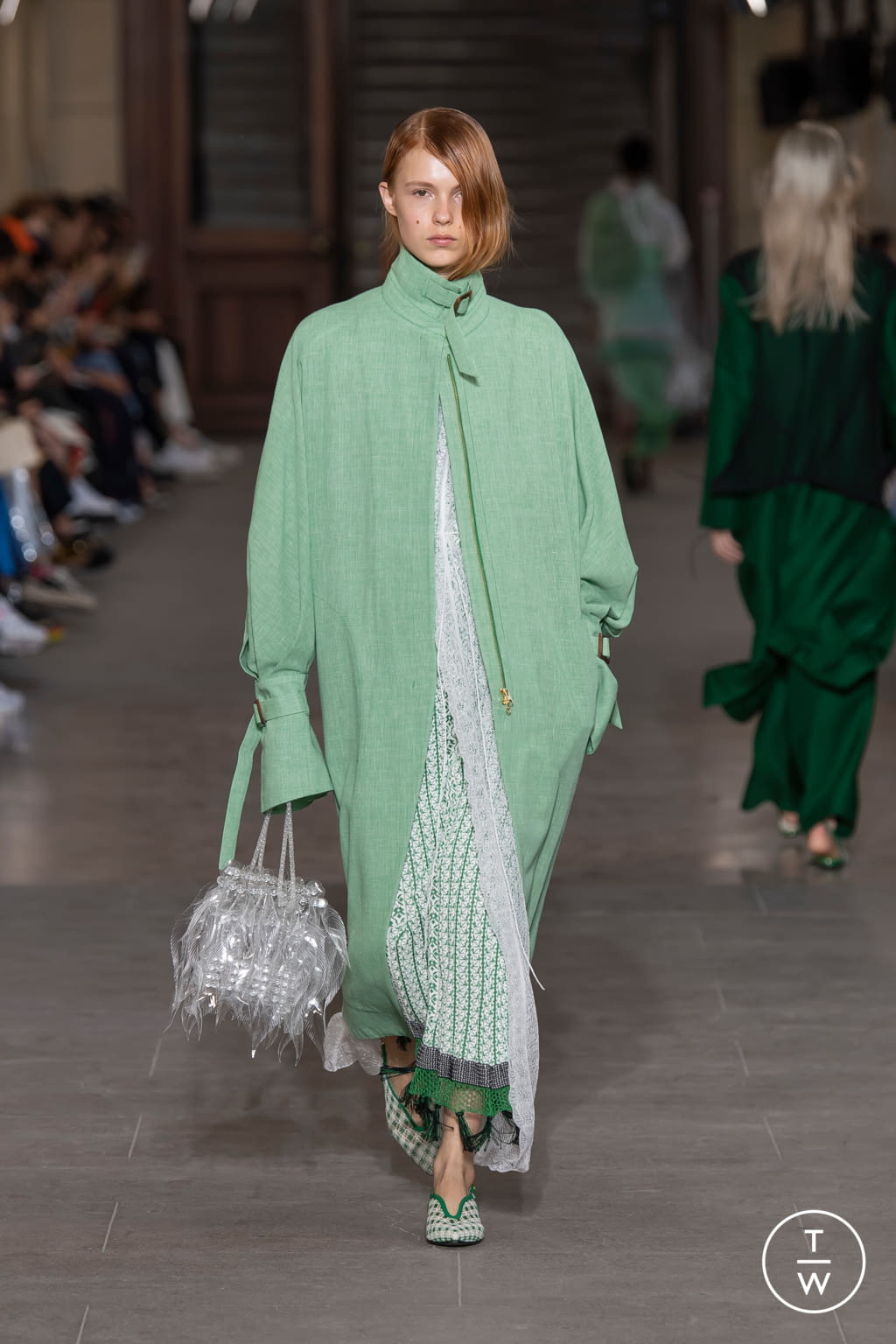 Fashion Week Paris Spring/Summer 2020 look 22 from the Mame Kurogouchi collection womenswear