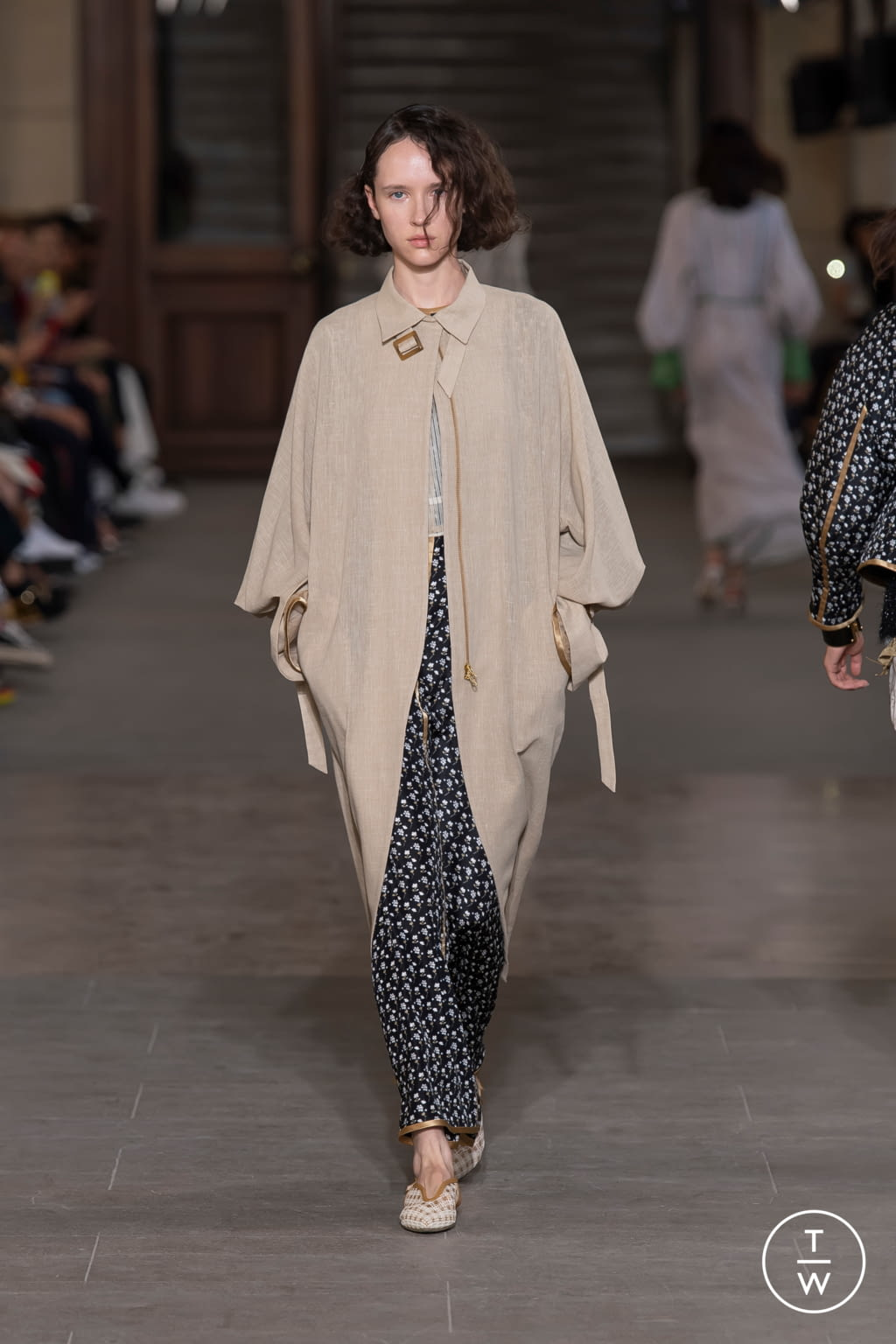 Fashion Week Paris Spring/Summer 2020 look 27 from the Mame Kurogouchi collection womenswear