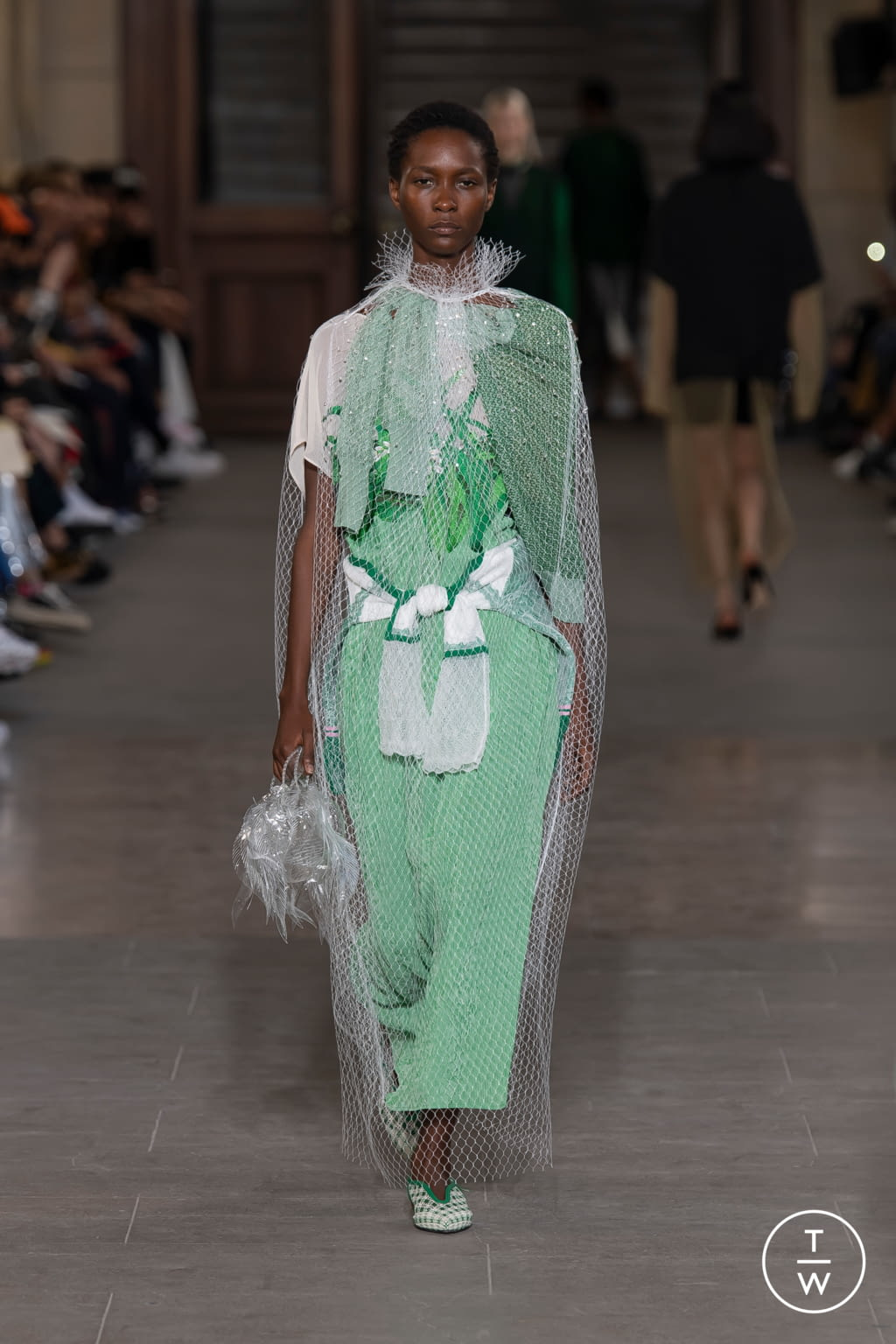 Fashion Week Paris Spring/Summer 2020 look 20 from the Mame Kurogouchi collection womenswear