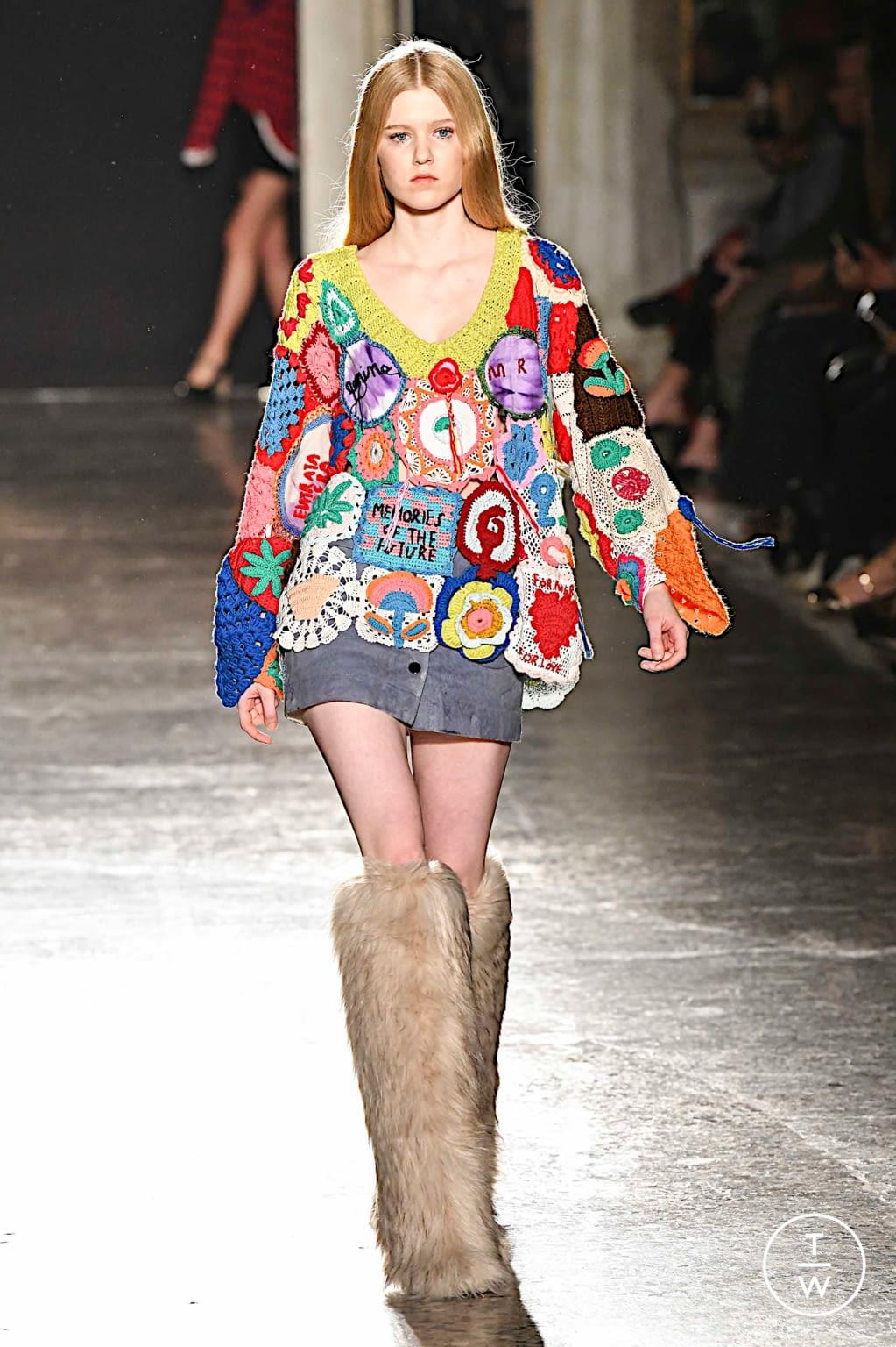 Fashion Week Milan Fall/Winter 2019 look 24 from the Marco Rambaldi collection womenswear