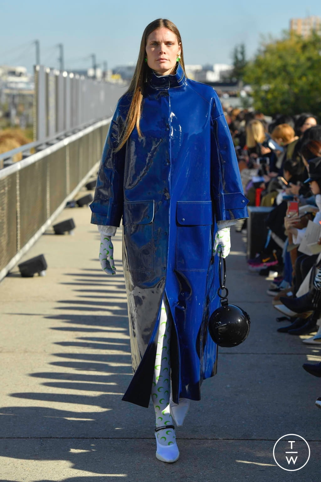 Fashion Week Paris Spring/Summer 2019 look 39 from the Marine Serre collection womenswear