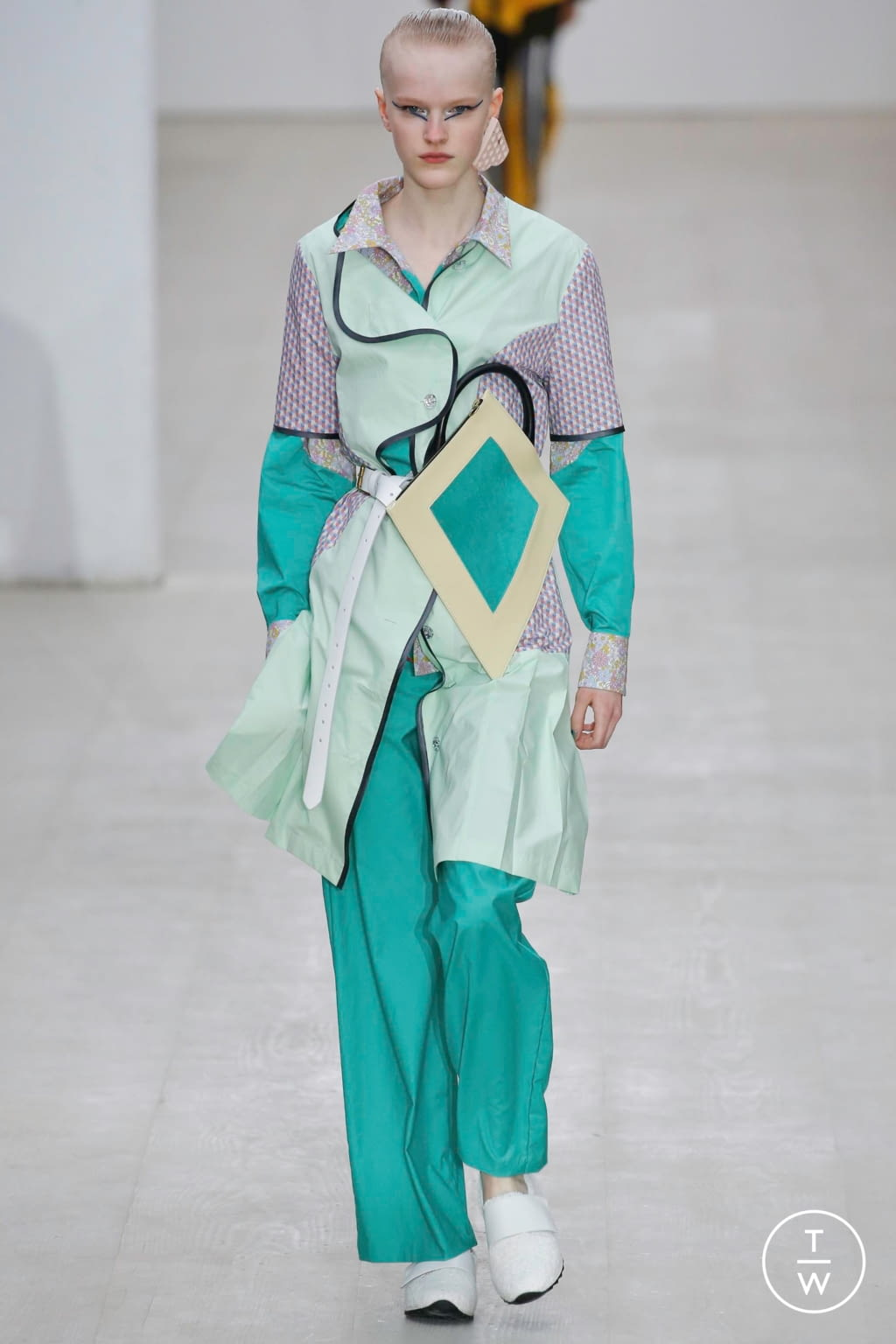 Fashion Week London Spring/Summer 2020 look 2 from the Matty Bovan collection womenswear