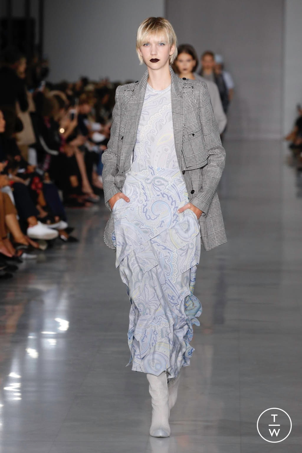 Fashion Week Milan Spring/Summer 2020 look 10 from the Max Mara collection womenswear