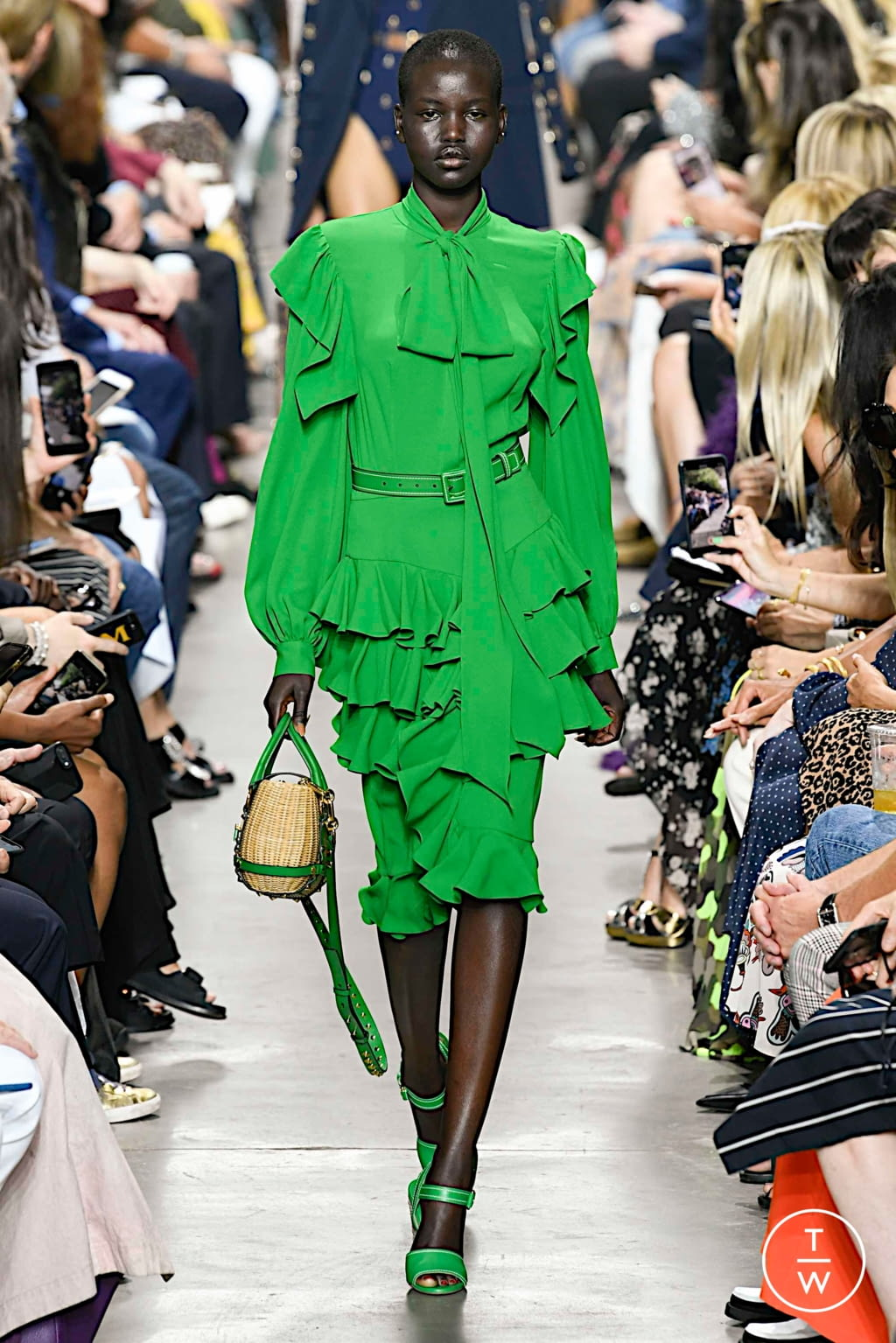Fashion Week New York Spring/Summer 2020 look 15 from the Michael Kors Collection collection womenswear