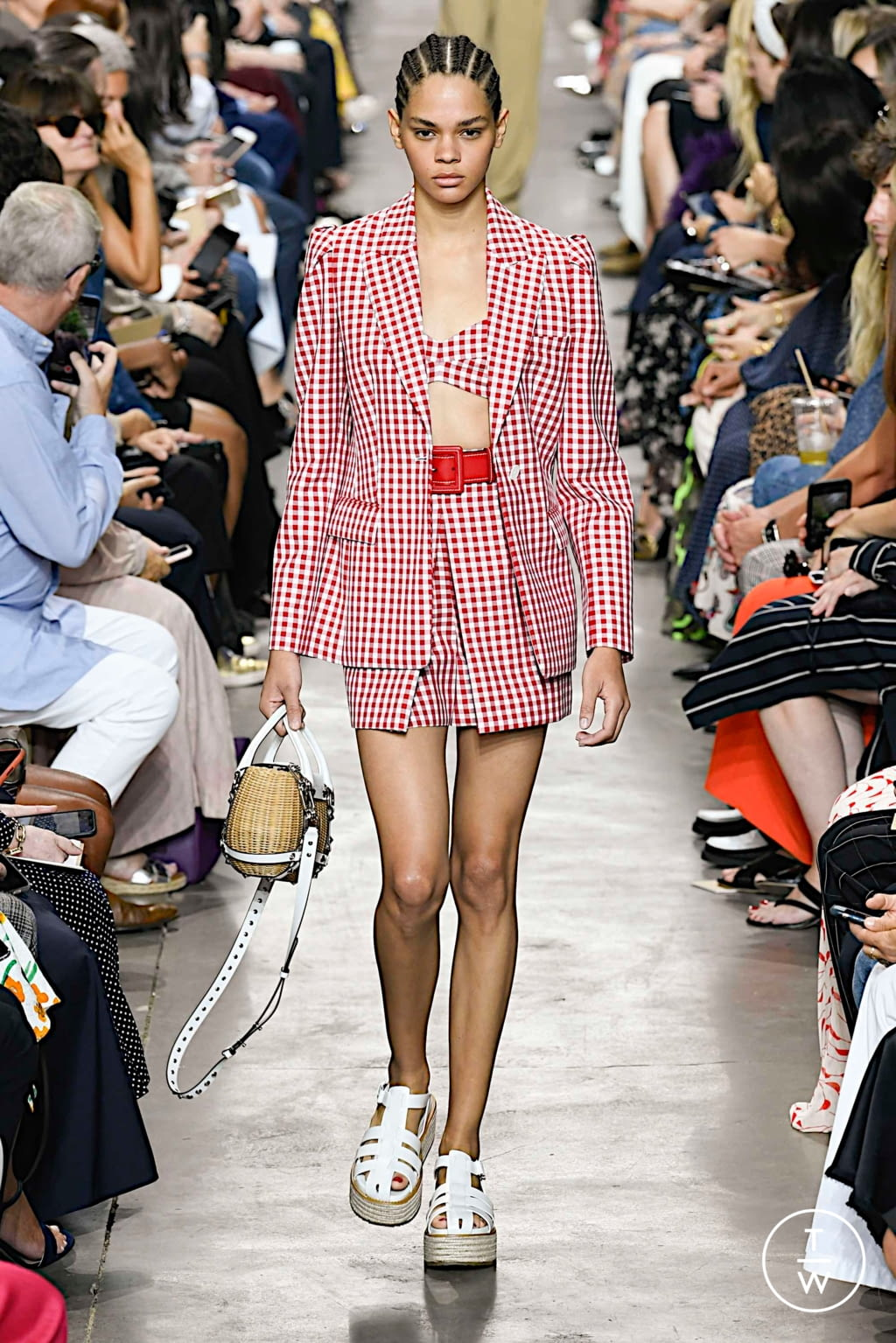 Fashion Week New York Spring/Summer 2020 look 27 from the Michael Kors Collection collection womenswear