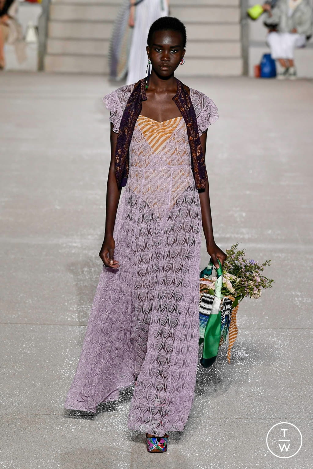 Fashion Week Milan Spring/Summer 2020 look 10 from the Missoni collection womenswear