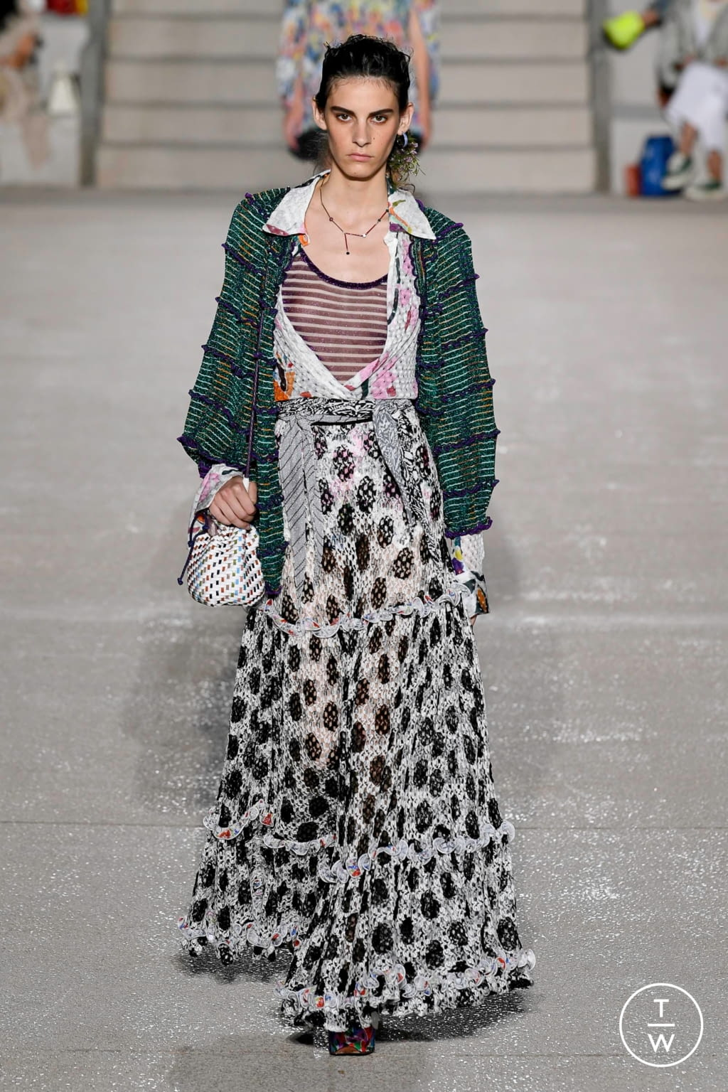 Fashion Week Milan Spring/Summer 2020 look 15 from the Missoni collection womenswear