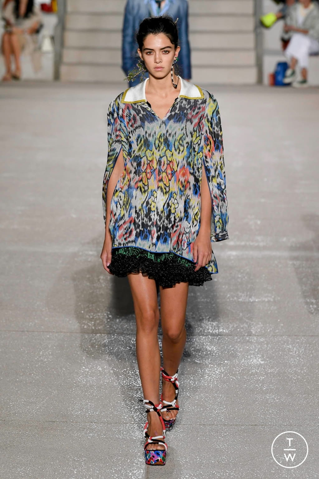 Fashion Week Milan Spring/Summer 2020 look 16 from the Missoni collection womenswear