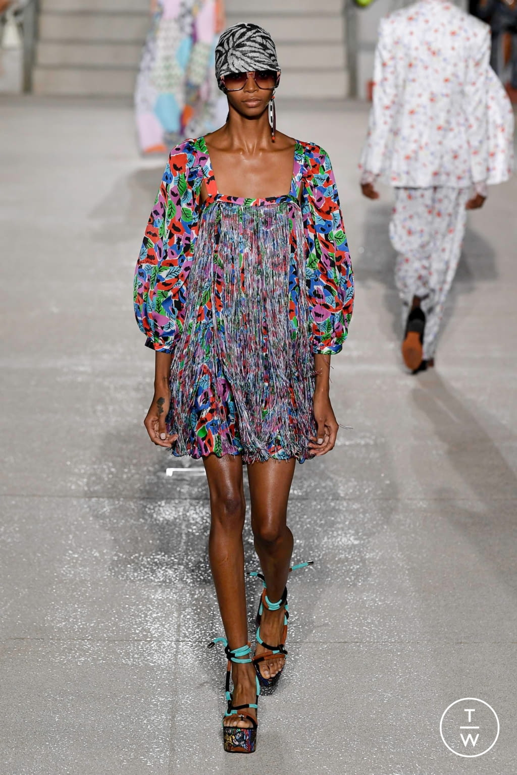 Fashion Week Milan Spring/Summer 2020 look 21 from the Missoni collection womenswear