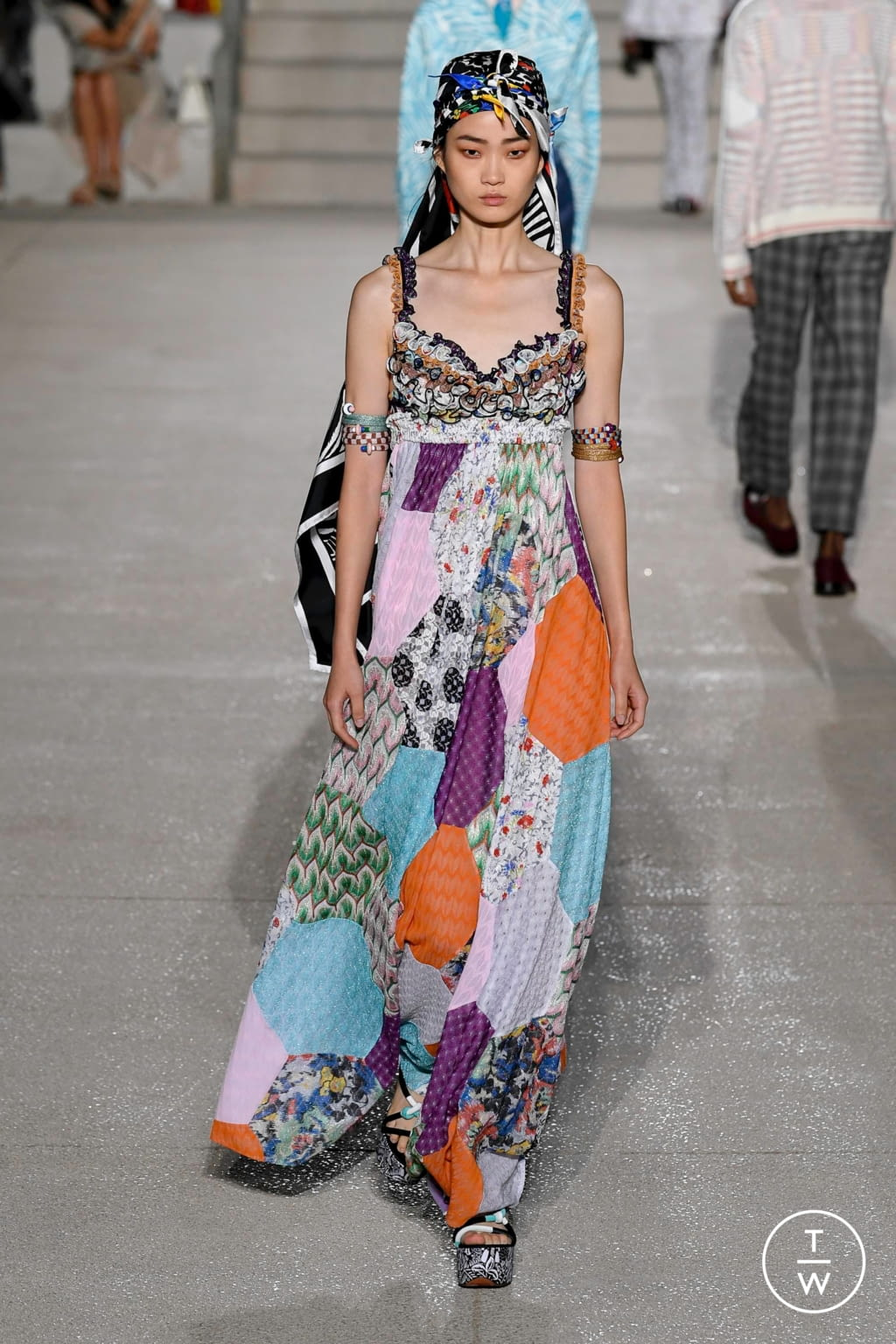Fashion Week Milan Spring/Summer 2020 look 22 from the Missoni collection womenswear