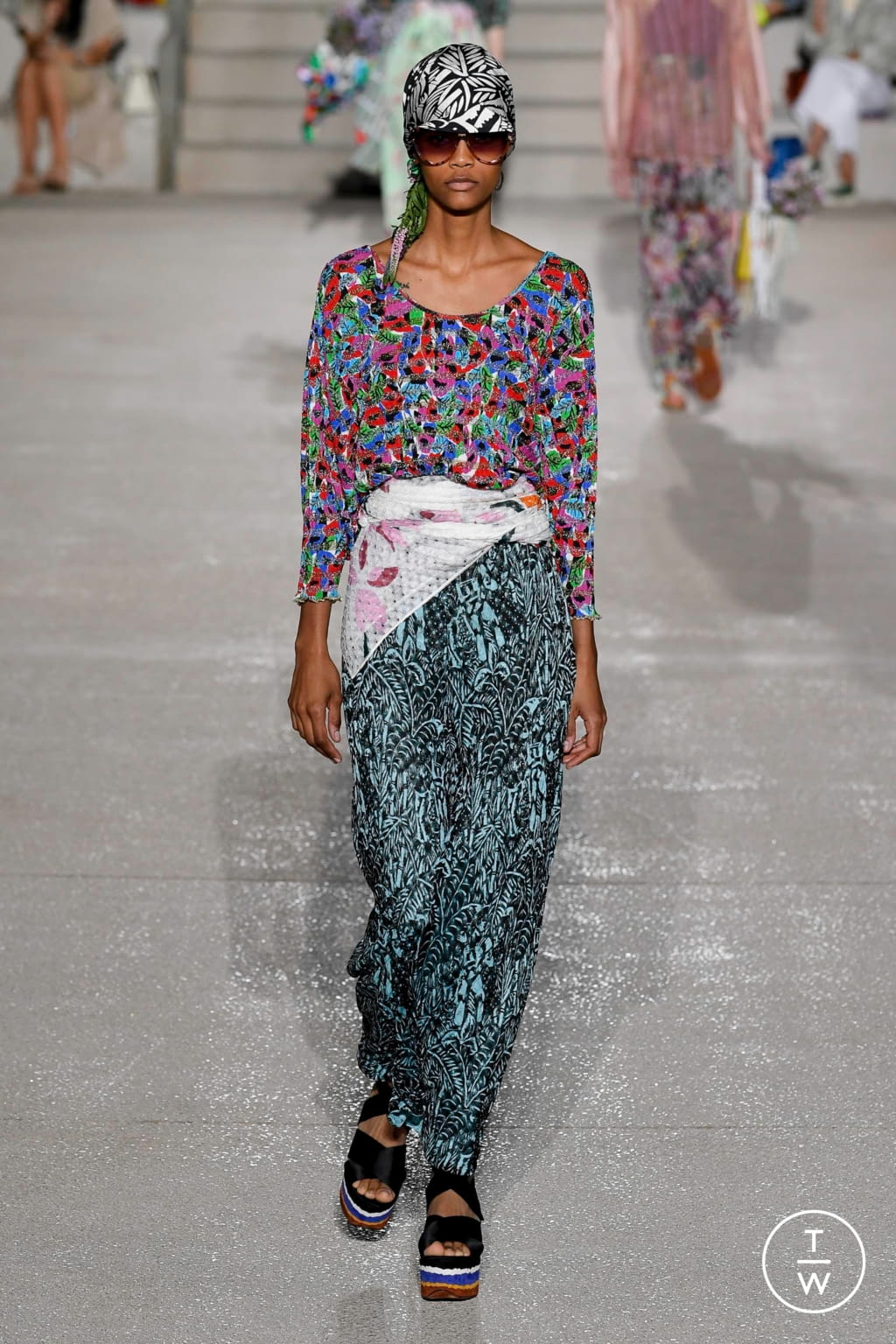 Fashion Week Milan Spring/Summer 2020 look 24 from the Missoni collection womenswear