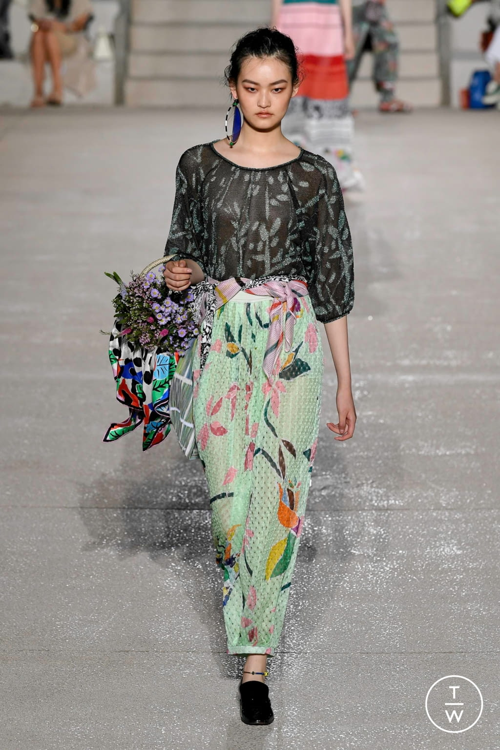 Fashion Week Milan Spring/Summer 2020 look 25 from the Missoni collection womenswear