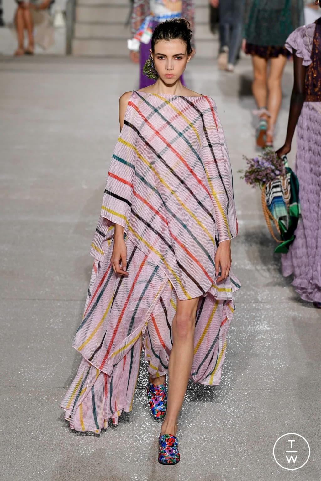 Fashion Week Milan Spring/Summer 2020 look 28 from the Missoni collection womenswear