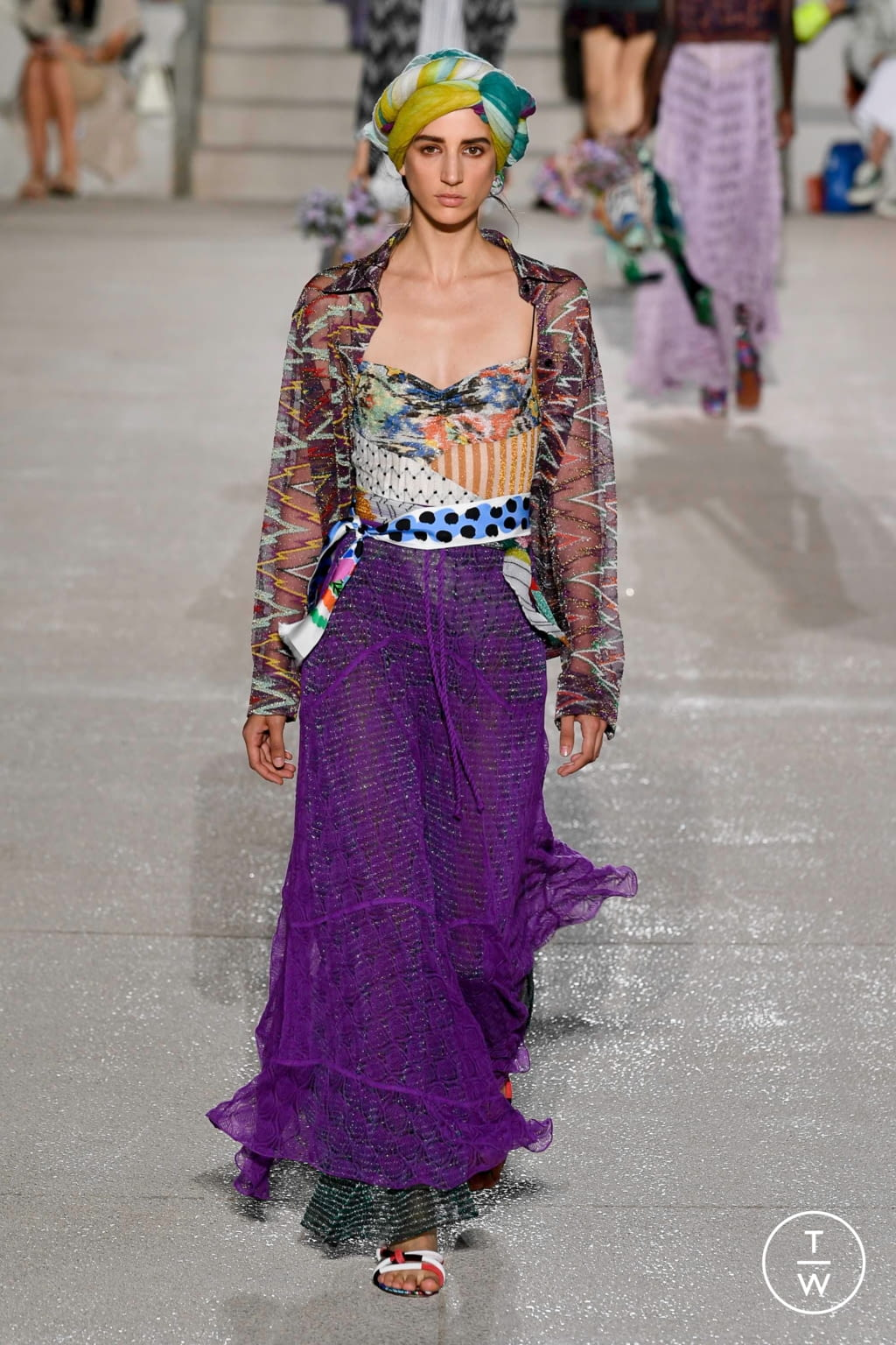 Fashion Week Milan Spring/Summer 2020 look 29 from the Missoni collection womenswear