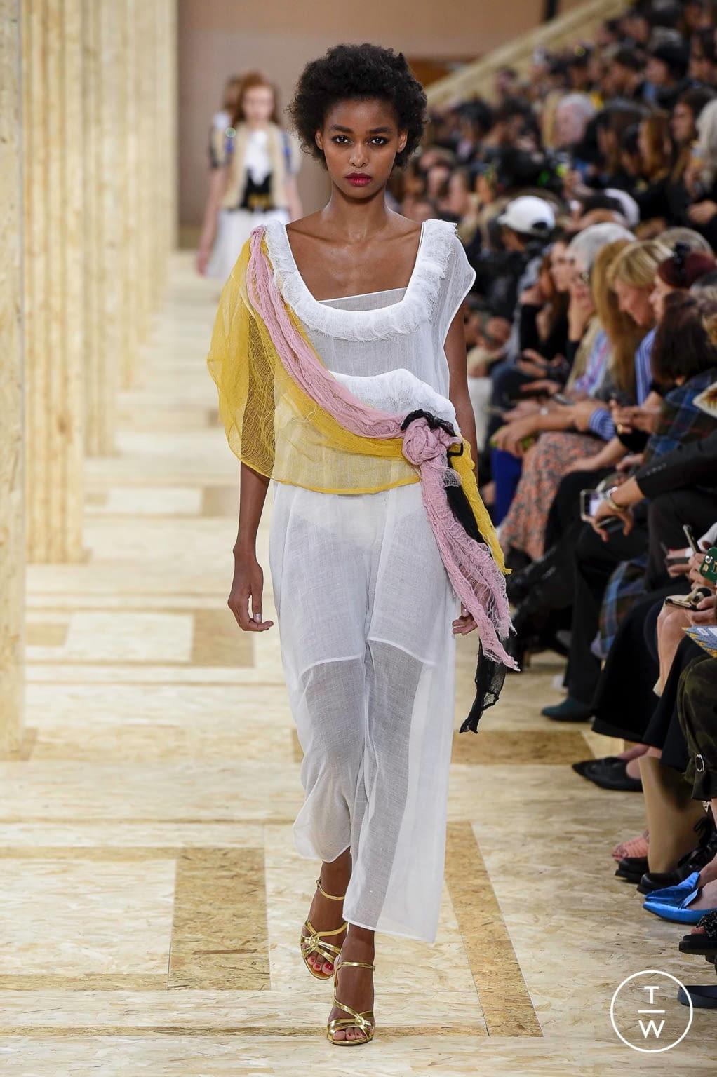 Fashion Week Paris Spring/Summer 2020 look 48 from the Miu Miu collection womenswear