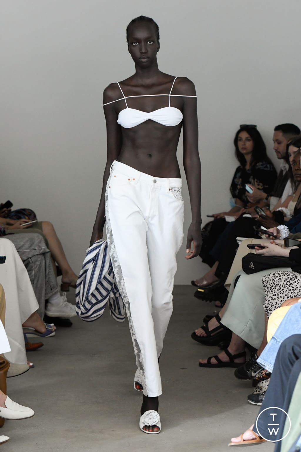 Fashion Week New York Spring/Summer 2022 look 34 from the Maryam Nassir Zadeh collection womenswear