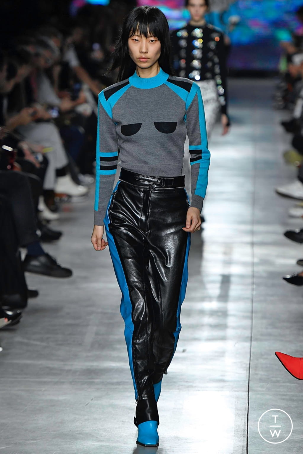 Fashion Week Milan Fall/Winter 2019 look 14 from the MSGM collection womenswear