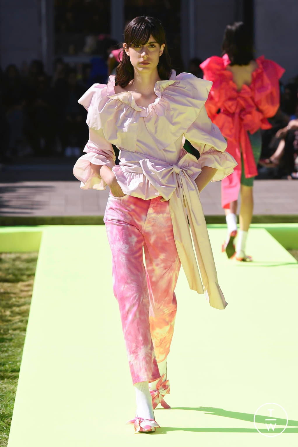 Fashion Week Milan Spring/Summer 2020 look 16 from the MSGM collection womenswear