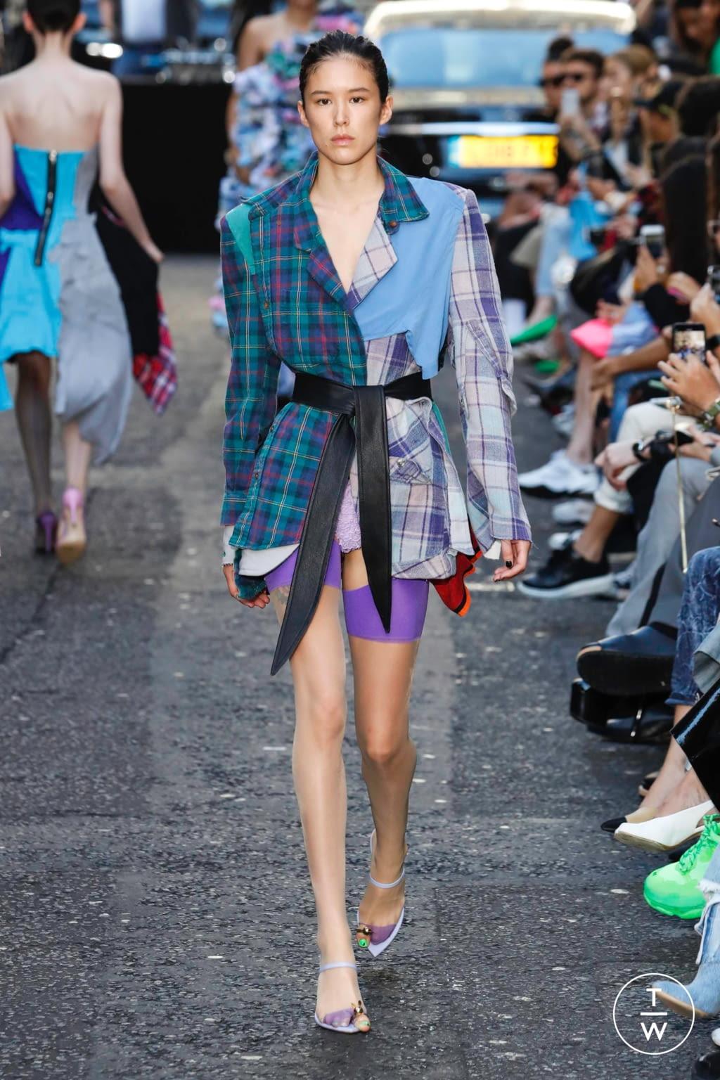 Fashion Week London Spring/Summer 2020 look 26 from the Natasha Zinko collection womenswear