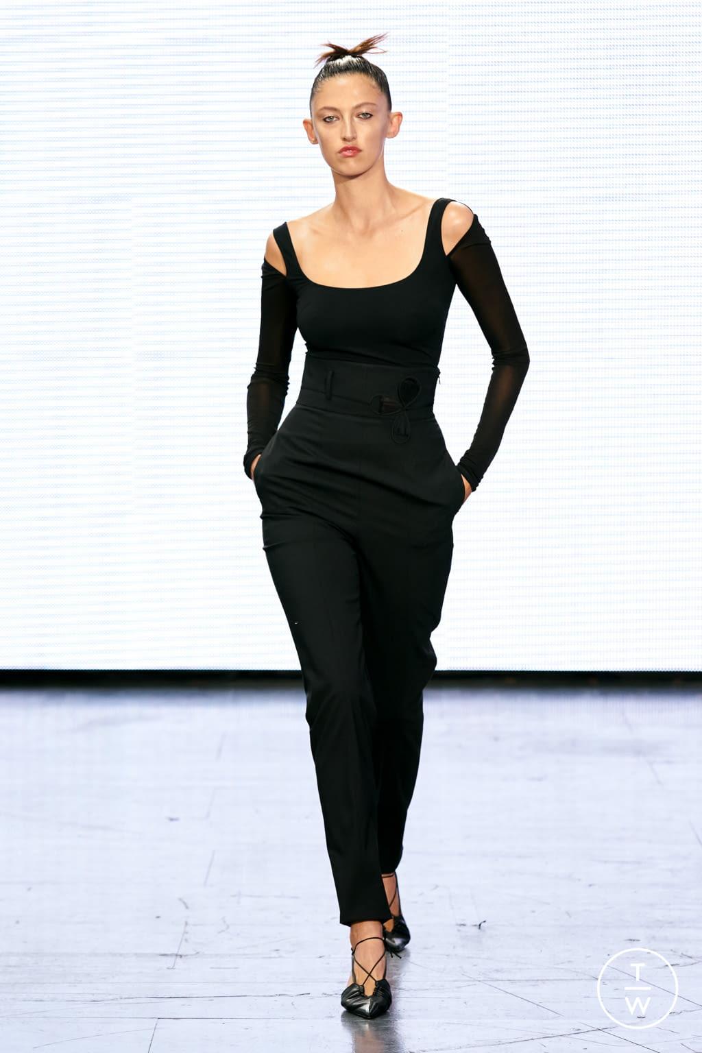 Fashion Week London Spring/Summer 2022 look 23 from the Nensi Dojaka collection womenswear
